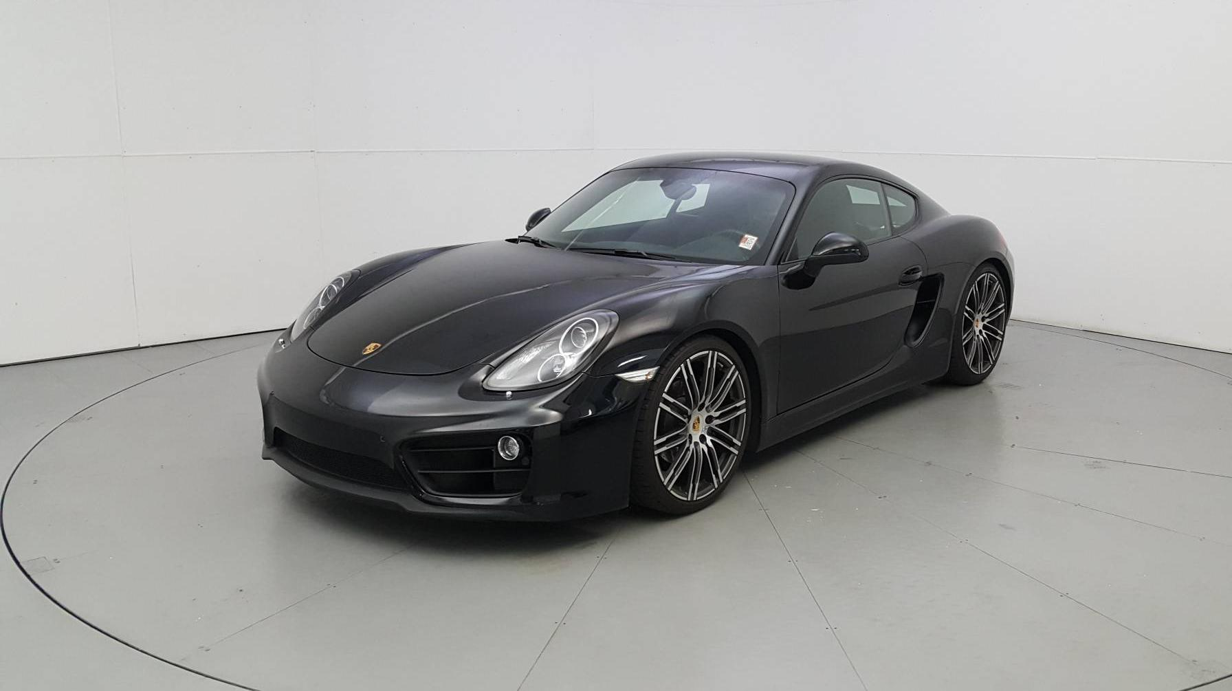 Pre-Owned 2016 Porsche Cayman Black Edition